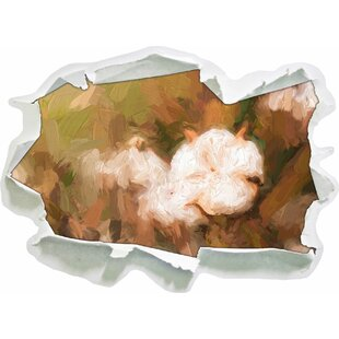 A Mature Bud Full Of Cotton Wall Sticker By East Urban Home