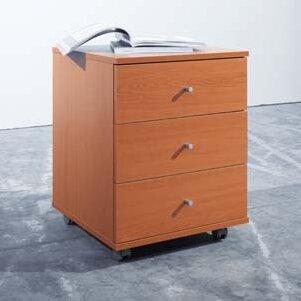 3-Drawer Mobile Vertical Filing Cabinet ... & 3-Drawer Mobile Vertical Filing Cabinet By All Home | Deals Price