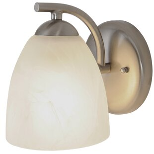 Contemporary 1-Light Bath Sconce by Monument
