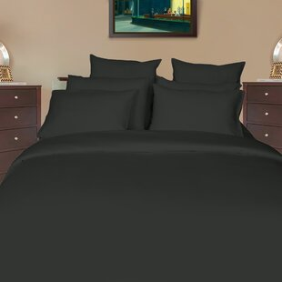Huseby Sateen Solid 400 Thread Count 100% Cotton Sheet Set