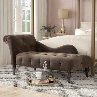 Willa Arlo Interiors Dagnall Fabric Chaise Lounge