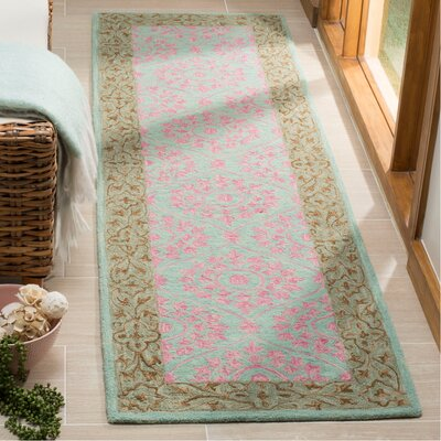 Tomo Hand Hooked Taupe Area Rug Bungalow Rose Rug Size Rectangle 23 X 8
