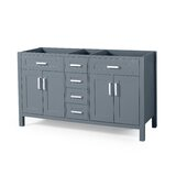 Wendy Sharp 60 Double Bathroom Vanity Base Only by Home Loft Concepts