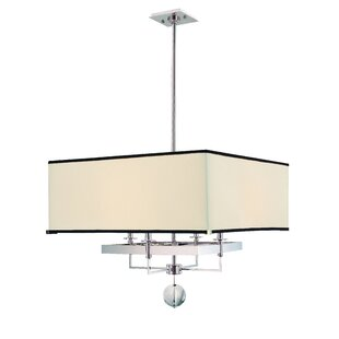 Emsley 4-Light Square/Rectangle Chandelier ByDarby Home Co