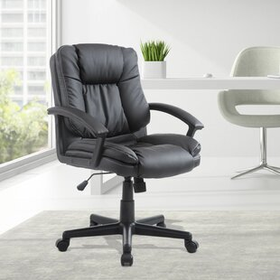Winston Porter Fitzpatrick Mid Back Swivel Ergonomic Office Chair