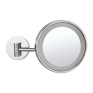 Coupon LED Light Wall Mounted Makeup Mirror By Glimmer by Nameeks