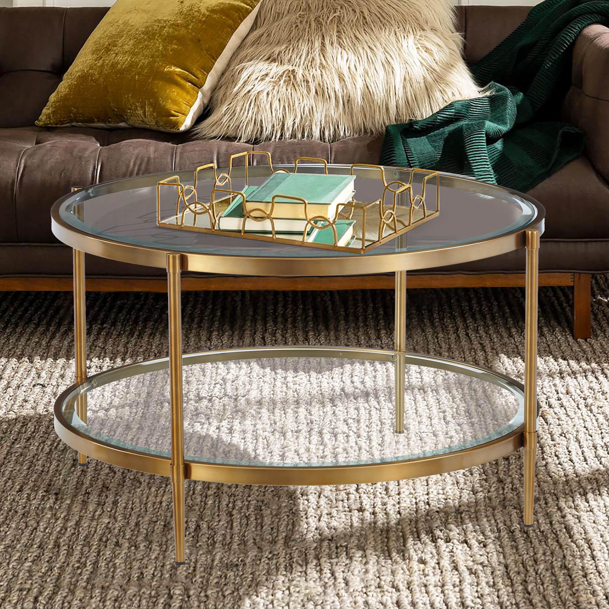 Everly Quinn Siegle Coffee Table With Storage Reviews Wayfair
