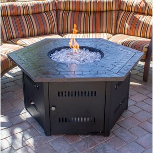 Stone Propane Gas Fire Pit Table