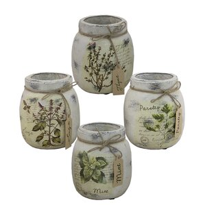 set of 4 spice jars - Spice Jars