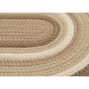 Brooklyn Hand Braided Natural Indoor/Outdoor Area Rug By Colonial Mills