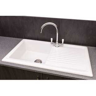 Ceramic Kitchen Sinks Uk Ceramic kitchen sinks wayfair save to idea board workwithnaturefo