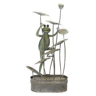 Frog Fountain Wayfair