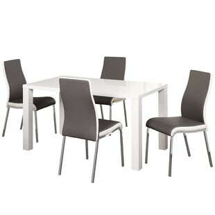 Matteoli 5 Piece Dining Set Orren Ellis