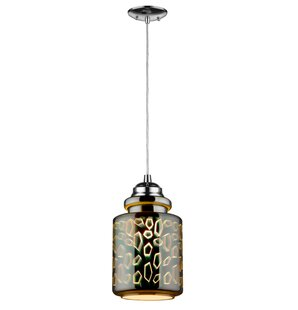 InFurniture PL Series 1-Light Jar Pendant