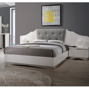 Latitude Run Ledet Upholstered Panel Bed