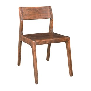 Sobel Solid Wood Dining Chair (Set of 2) by Union Rustic
