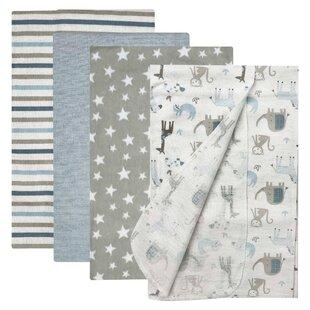 Kids Stroller Blanket 100/% Cotton Grey Toddler Pink Swaddle Blanket White Newborn Royal Bunny Baby Blanket,Flannel Girl Blanket