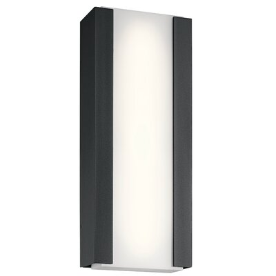 Brayden Studio Kemper LED Outdoor Sconce Size: 24'' H x 10'' W x 3 D