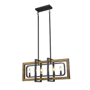 Corley 6-Light Geometric C..
