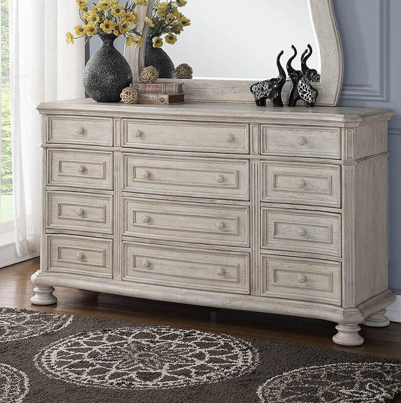 One Allium Way Piland 12 Drawer Dresser