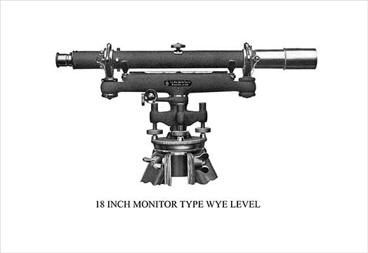 Buyenlarge 18 Inch Monitor Type Wye Level Graphic Art Wayfair