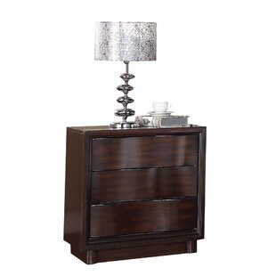 Azalee 3 Drawer Nightstand