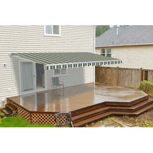 12 ft. W 10 ft. D Retractable Patio Awning by ALEKO