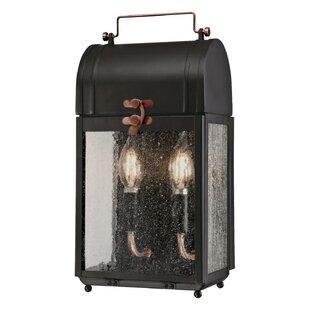 Williston Forge Markita 2-Light Outdoor Wall Lantern