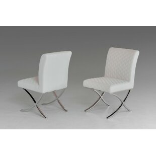Camron Modern Upholstered Dining Chair (Set of 2) by Orren Ellis