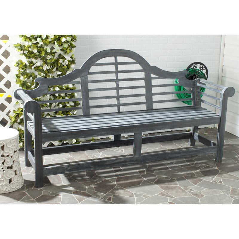 Incredible Ziemer Wooden Garden Bench Pabps2019 Chair Design Images Pabps2019Com
