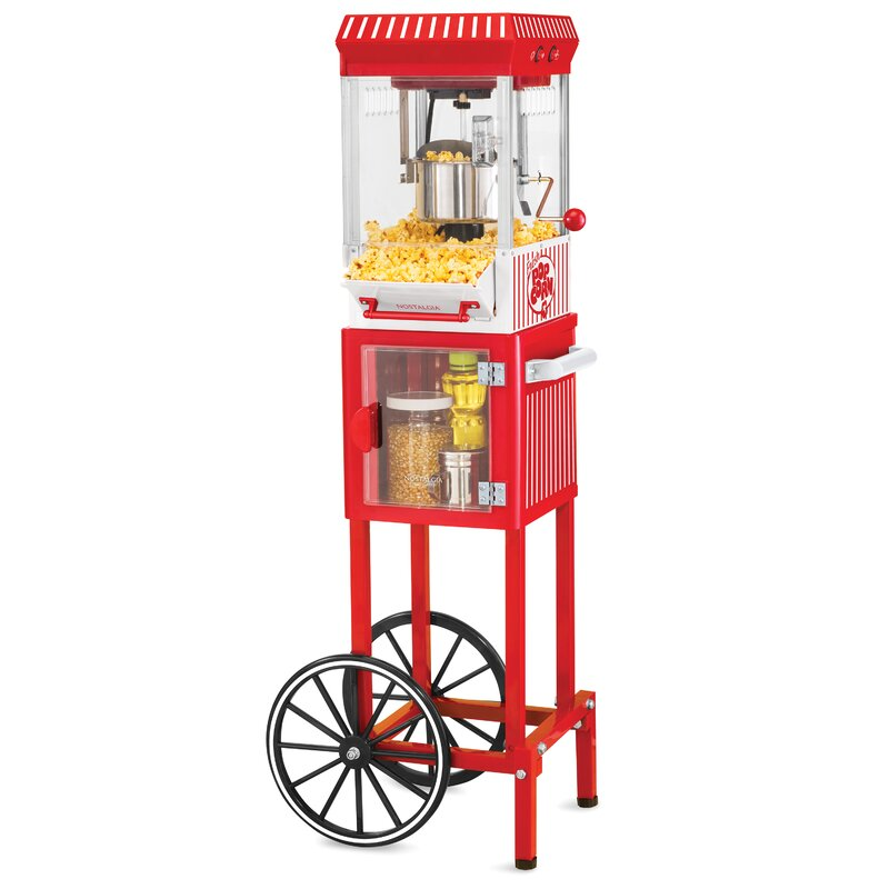 366a9291e9 Nostalgia Electrics Nostalgia 2.5 Oz. Vintage Popcorn Cart   Reviews ...