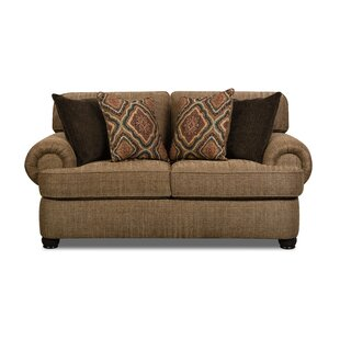 Compare prices Godwin Loveseat by Fleur De Lis Living Reviews (2019) & Buyer's Guide