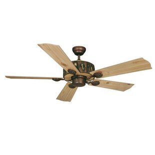 Polston 5-Blade Ceiling Fan by Loon Peak