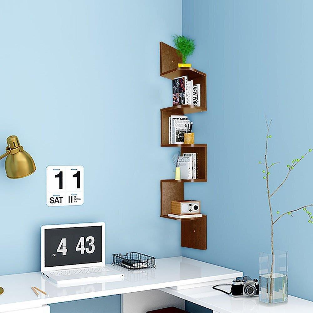 Wall Mounted Corner Shelves Free Shipping Over 35 Wayfair