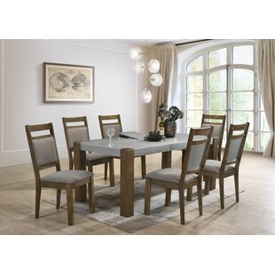 Shane 7 Piece Dining Set Gracie Oaks