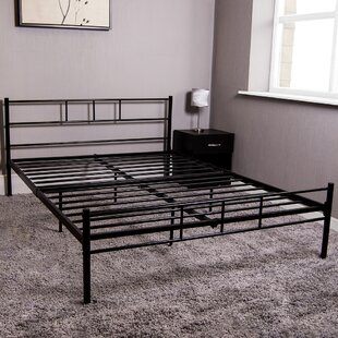 Metal Bed Frame By Symple Stuff