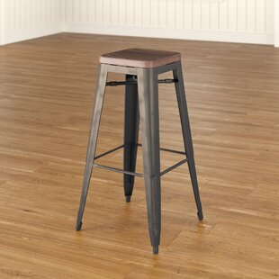 Isaac 30 Bar Stool (Set of 4) by Laurel Foundry Modern Farmhouse
