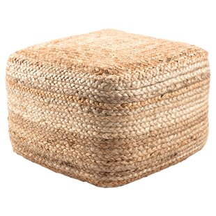 Liberty Efrain Pouf by Modern Rustic Interiors