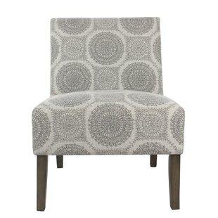 Chalkhill Slipper Chair by Winston Porter