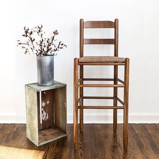 Pellerin Ladder Back 30 Bar Stool Gracie Oaks