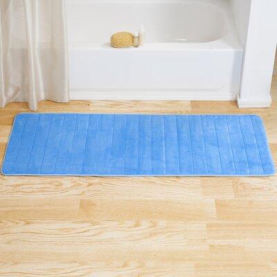 Blue Striped Bath Rugs Amp Mats You Ll Love In 2020 Wayfair