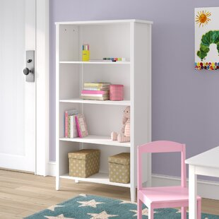 Affordable Alchiba 4 Tier 52 Standard Bookcase by Mack & Milo Reviews (2019) & Buyer's Guide