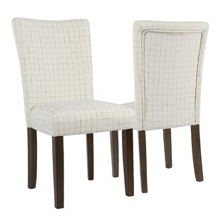 Beachcrest Home Saxis Classic Parsons Chair (Set of 2)