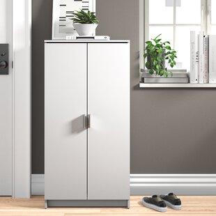 21 Pair Shoe Storage Cabinet By Zipcode Design