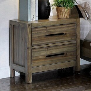 Coupon Kressley 2 Drawer Nightstand by Union Rustic