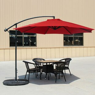 Cantillo 10' Cantilever Umbrella by Darby Home Co