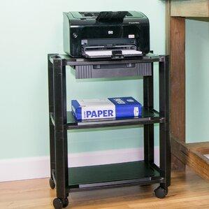 mobile printer stand