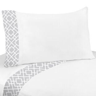 Shopping Diamond 4 Piece 100% Cotton Sheet Set By Sweet Jojo Designs