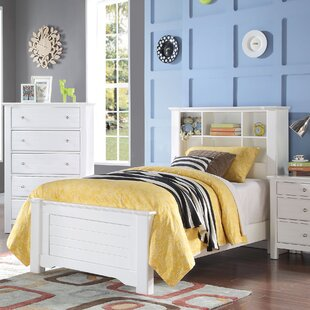 Saylor Bookcase Panel Bed