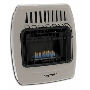 Kozy World 10,000 BTU Infrared Liquid Propane Gas Wall Heater